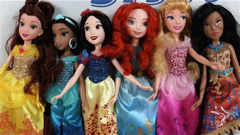 hasbro disney princess ksiezniczki disneya royal shimmer cala kolekcja lalek youtube