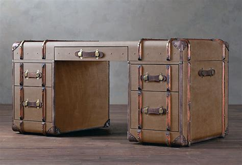 richards trunk desk looks as if you could sail the world