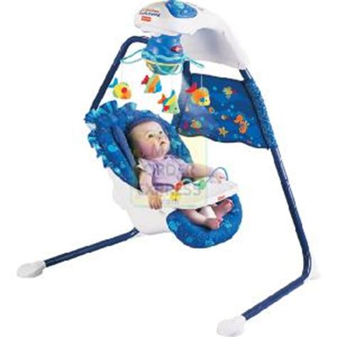 fisher price aquarium cradle swing gifts and toys fisher price soothe glow seahorse