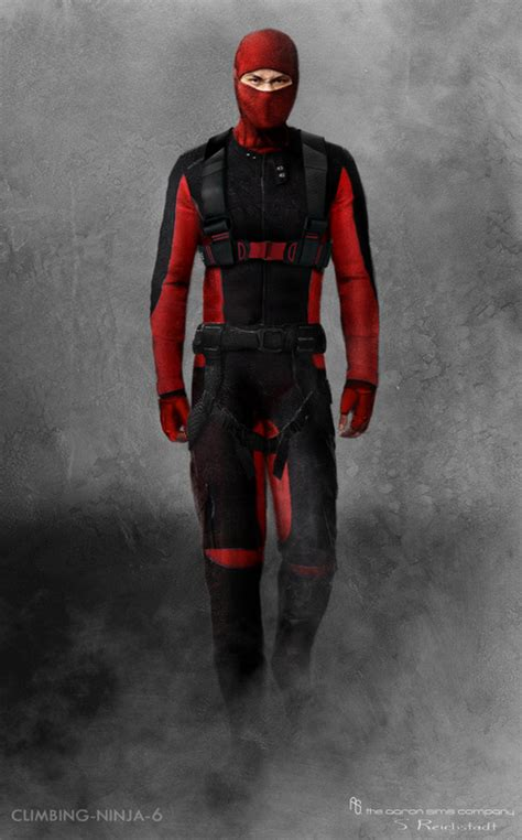 film ninja red gi joe retaliation concept art featuring hooded cobra