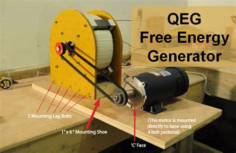 what is the quantum energy generator qeg free energy