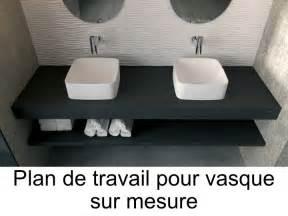 vasques plan vasque plan de travail sur mesure en r 233 sine