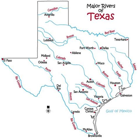 geography map of texas geography texas maps