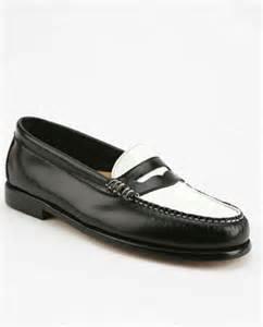 bass wayfarer loafers bass wayfarer two tone loafer 171 shefinds