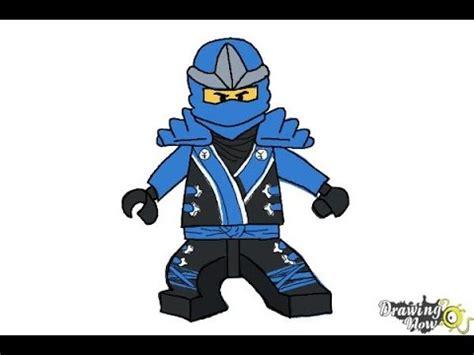 tutorial lego ninjago how to draw jay from lego ninjago youtube