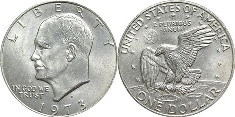 how much is the silver dollar worth eisenhower dollar photos mintage specifications errors