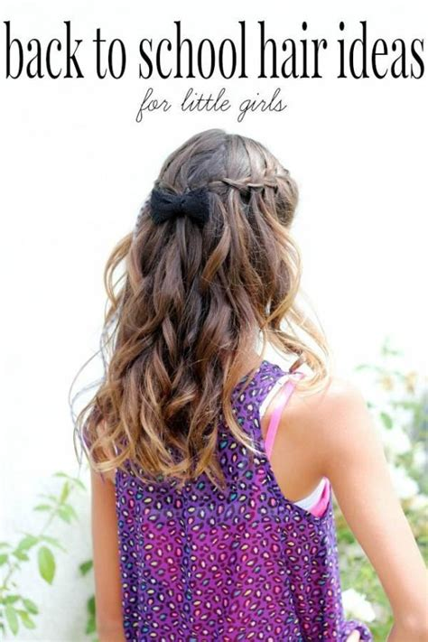 diy back to school hairstyles for hair back to school hair for tweens bath and