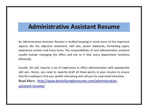 sle resume objective statements administrative assistant assistant objective statements 28 images 12 office