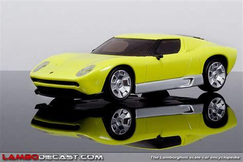 Lamborghini Miura Concept Price The 1 43 Lamborghini Miura Concept From Mondo Motors A