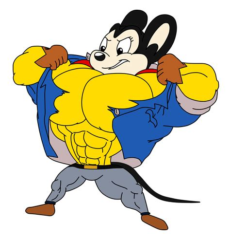 Pictures Of Mighty Mouse