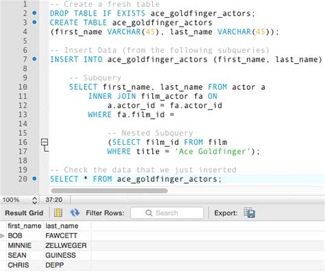 Sql Select Into New Table by Archives Erogonchange