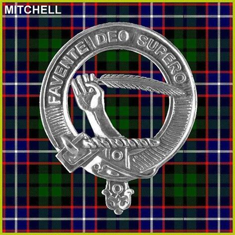 heeg coat of arms mitchell clan crest scottish cap badge cb02 my heart is