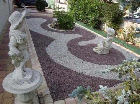 Decoration Allee De Jardin by D 233 Coration Jardin Avec Galets Exemples D Am 233 Nagements