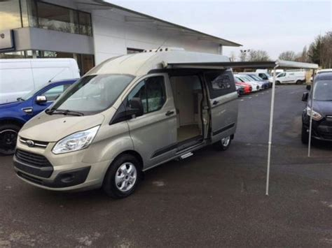 ford transit awning 2016 ford transit terrier lux xl se camper van in tectonic silver with 2 6m awning