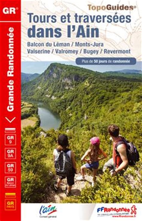 Wandelgids L Ain Du Revermont Gr9