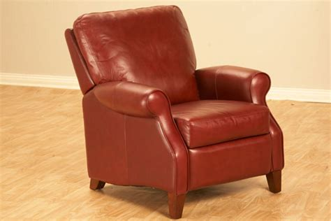 Belmont Recliner by Belmont All Leather Recliner
