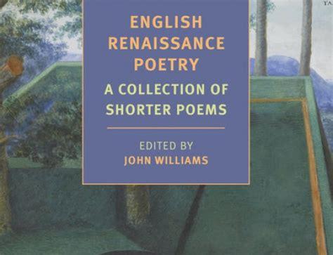 themes of english renaissance poetry john williams the sleep of reason 1981 excerpt the