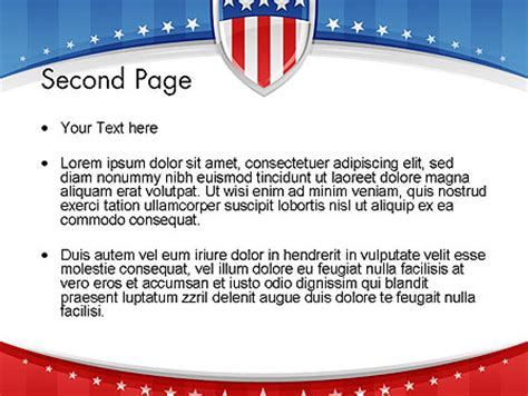 Patriotic Background Powerpoint Template Backgrounds 11971 Poweredtemplate Com Patriotic Powerpoint