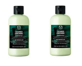 Pembersih Wajah Tje wajah bersih segar dengan cucumber cleansing milk