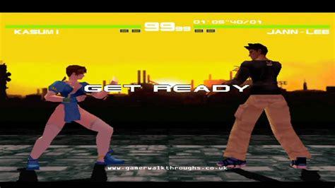 Dead Or Alive 5 1 dead or alive ps1 walkthrough kasumi