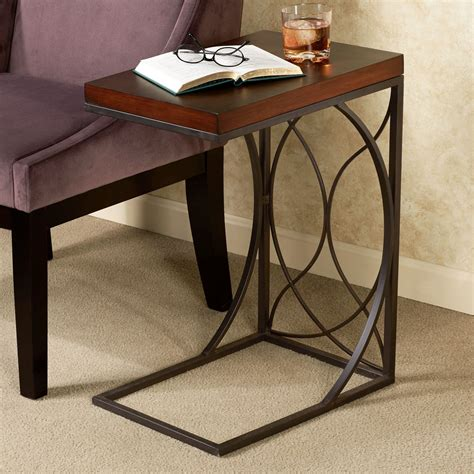 C Shaped Table For Sofa Furniture Metal C Shaped Sofa Tables Wonderful C Shaped