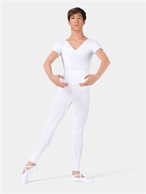 free shipping mens quot ivan quot v neck leotard with built in