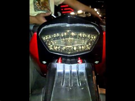 Lu Led Motor Yamaha Byson Led Stop L 250 On Yamaha Byson Fender V 2