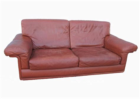 Desede Sofa by Brown Leather Swiss Sofa From De Sede For Sale At Pamono
