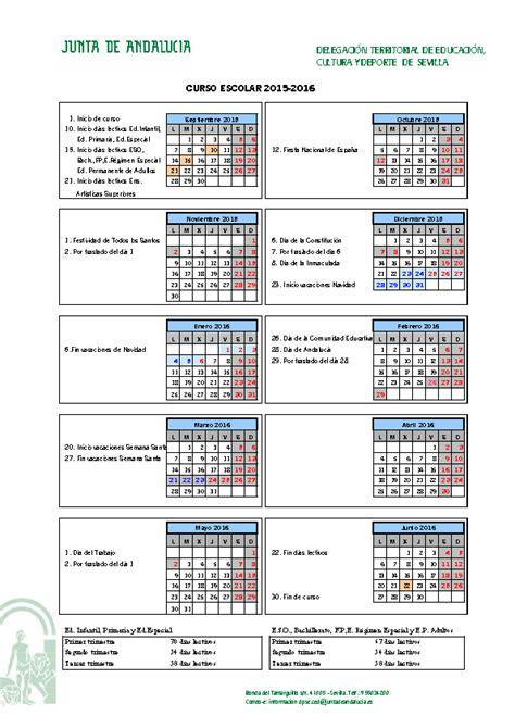 calendario escolar miami dade apexwallpapers com calendario escolar de sevilla 201617 calendario escolar
