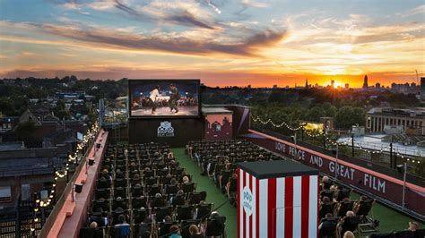 cinema on the roof sunset rooftop screenings on tap as rooftop cinema club