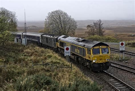 Late Sleepers by Scot Rail Co Uk 187 Photo 187 66739 And 73967 Arrive With The