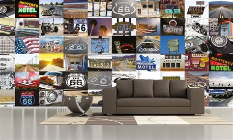 Wall Murals Route 66 Route 66 Wall Mural Buy At Abposters