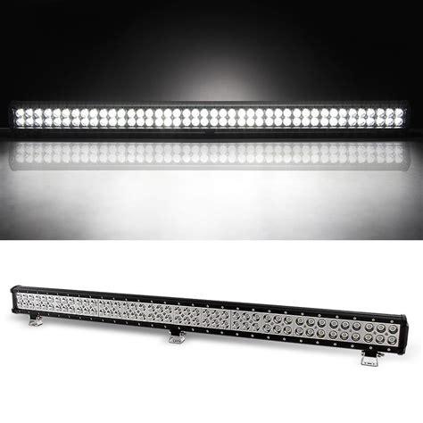 38 Quot 252w Aluminum Led Light Bar Spot Beam For Offroad 38 Led Light Bar