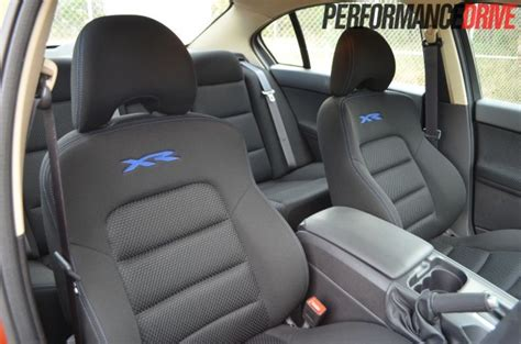 what car has the most comfortable front seats 2012 ford falcon xr6 mkii review performancedrive