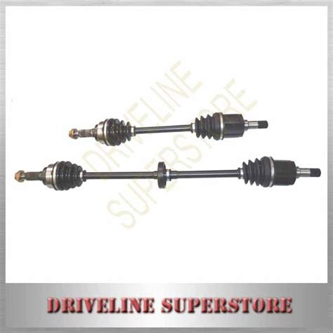 Visto Manual Out Kia Cv Joint a pair of new cv joint drive shafts for ford festiva 1 5l wf manu 1998 2001 ebay