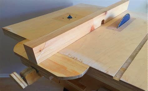 How To Make A Table In R Making A Homemade Table Saw Fence Amp Router Table Fence