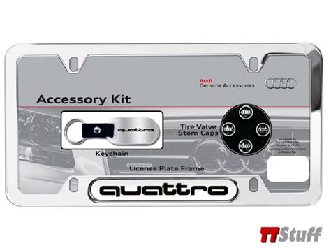 Audi Tt Gifts by Audi Tt Stuff Audi License Plate Frame Gift Set