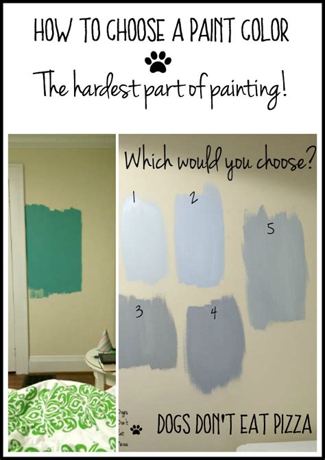 how to choose a paint color how to choose a paint color