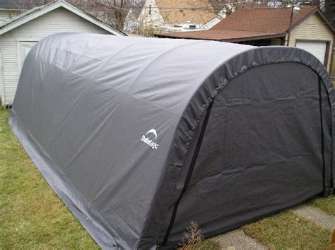 Shelterlogic Garage Replacement Covers by Shelterlogic Replacement Cover 12x24x8 Gray 211213
