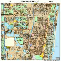deerfield florida map 1216725