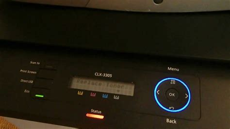 how to reset samsung printer clx 3185 fix firmware reset cip clx 3300 3303 3307 3305w clx 3305f