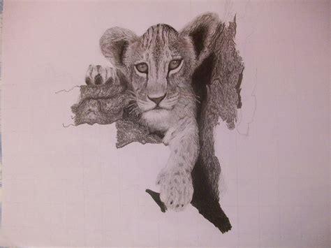 imagenes realistas en 3d dibujos de animales reales a lapiz imagui