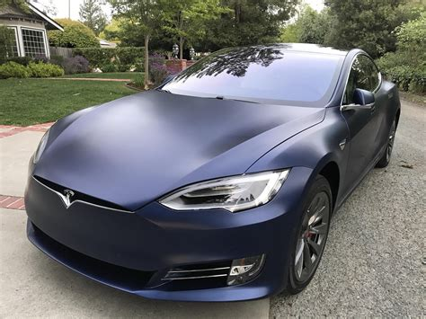 suv tesla blue matte blue tesla model s electric cars pinterest