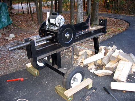 wood splitter plans pdf woodworking