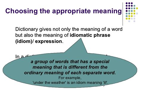 suitable meaning dictionary skills session 5
