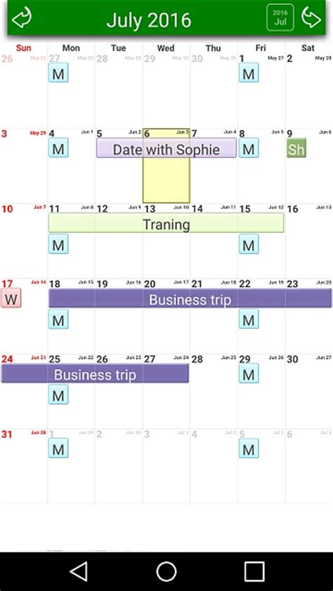 calendar templates for android app free 3d calendar android forums at androidcentral com