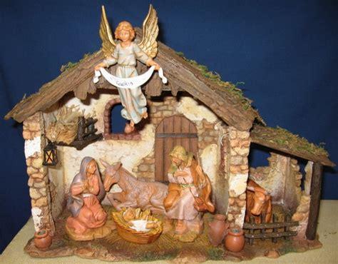 fontanini 5 quot nativity sets stables