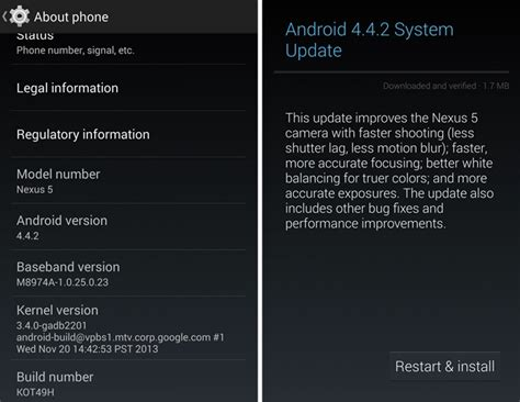 android 4 1 2 update rolling out android 4 4 2 update just days after android 4 4 1 phonebunch