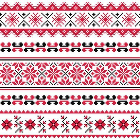 ukraine pattern vector ukraine style fabric pattern vector 05 vector pattern