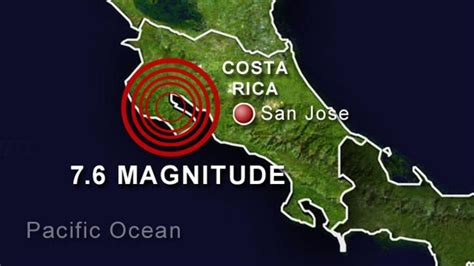 earthquake costa rica 7 6 magnitude earthquake hits costa rica pura vida culture